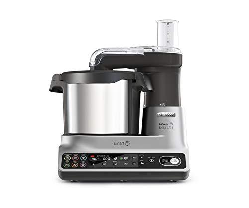 Kenwood KCook Multi Smart CCL450SI Robot da Cucina con funzione cottura