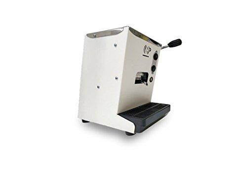 Macchina da caffè in cialde compatta piccola LOLLINA Lollo Caffè con omaggio 40 cialde filtro carta 44 mm in regalo