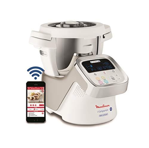 Moulinex HF9001 i-Companion Robot Multifunzione con APP