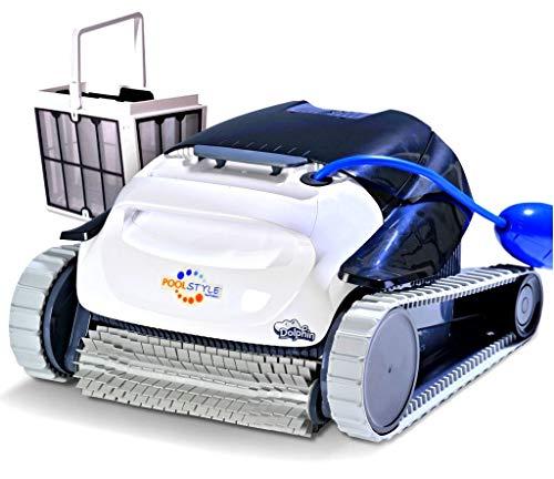 DOLPHIN Maytronics PoolStyle AG Plus Digital - Robot Elettrico Pulitore per Piscina Fino a 10 Mt - Fondo + PARETI - Esclusiva Italia