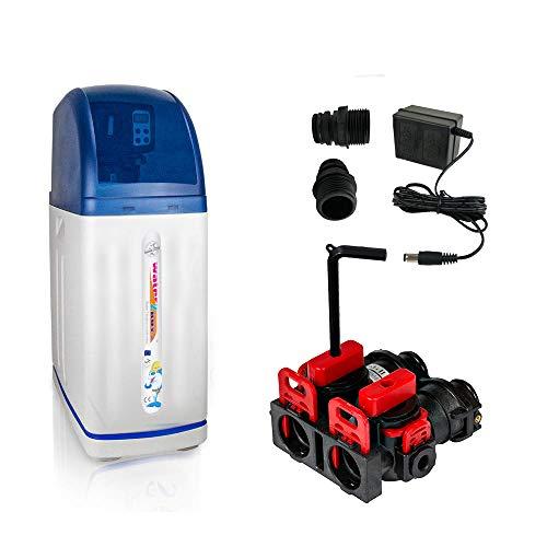 Water2Buy W2B180 Addolcitore Acqua | Addolcitore acqua domestico per 1-4 persone
