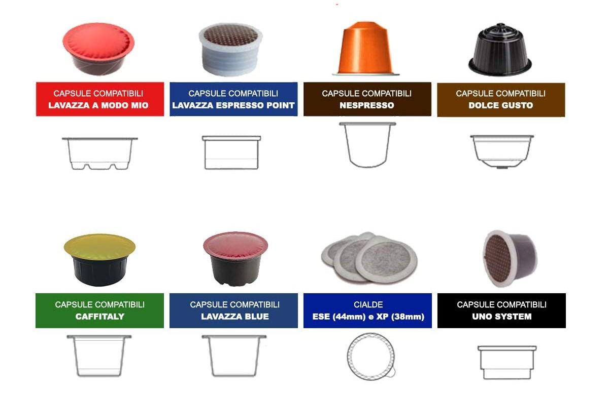 differenza tra cialde e capsule