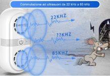 scacciatopi ultrasuoni per topi